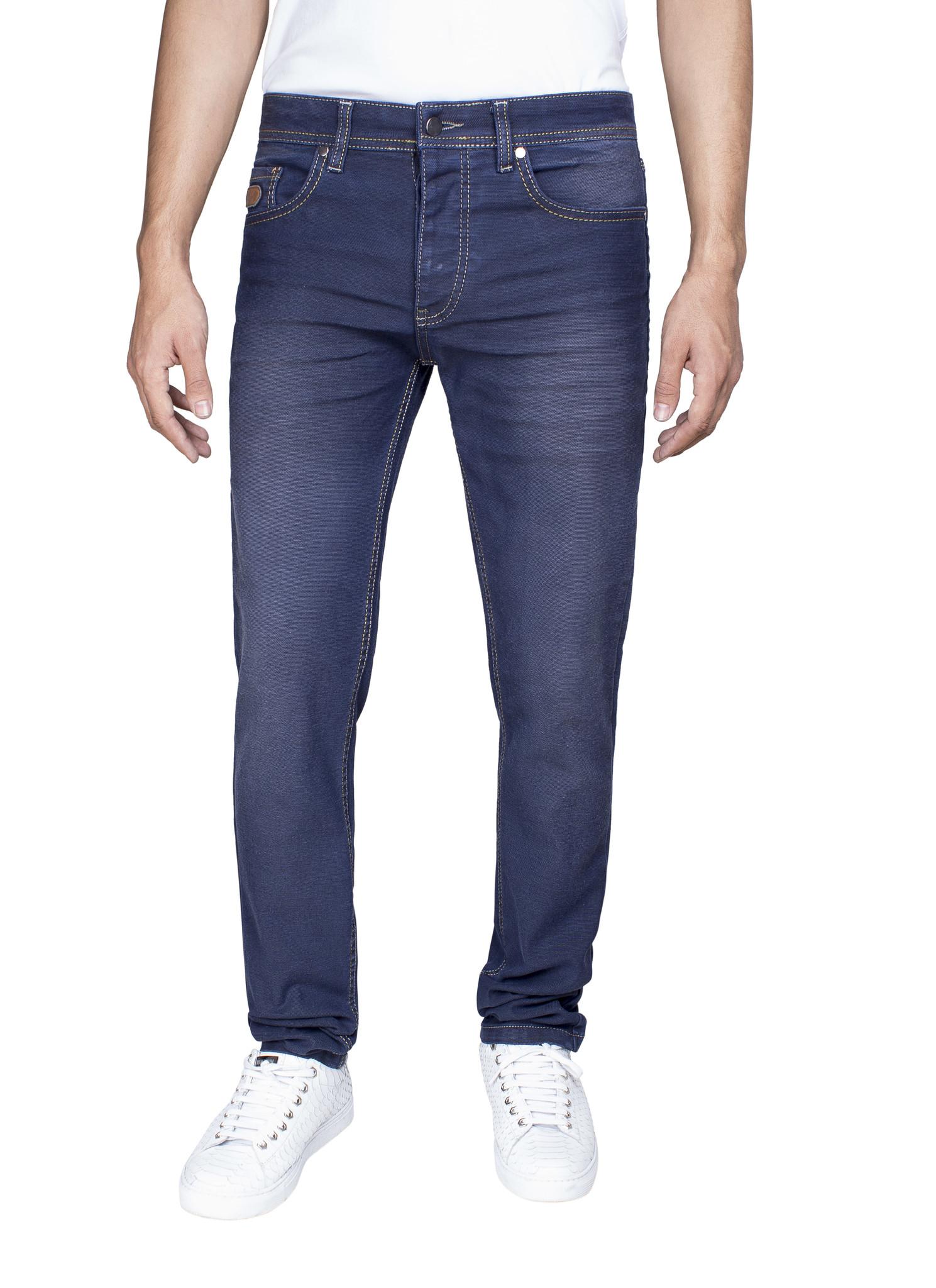 Arya Boy Jeans 82054 Navy L34 Maat: 29/34