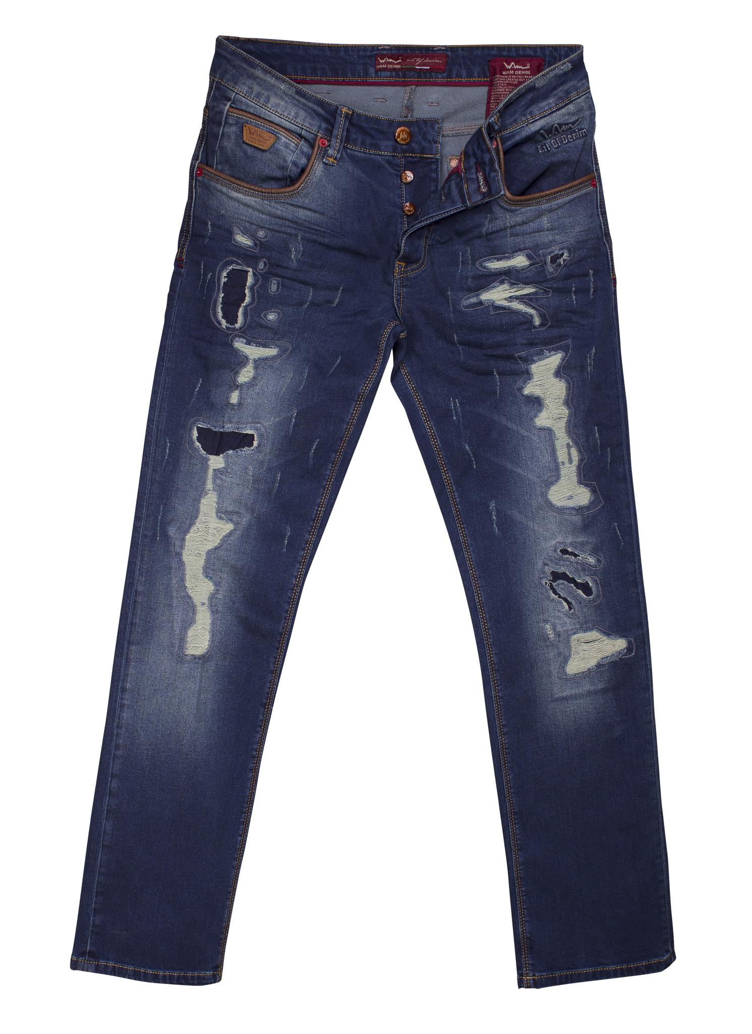 Wam Denim Jeans Tennesee Dark Blue