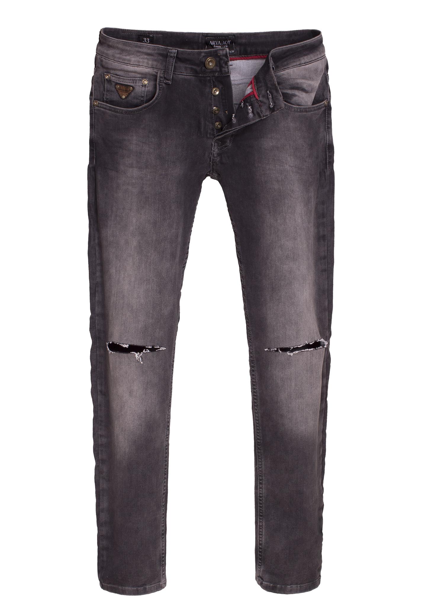 Arya Boy Jeans 82020 Steel Grey