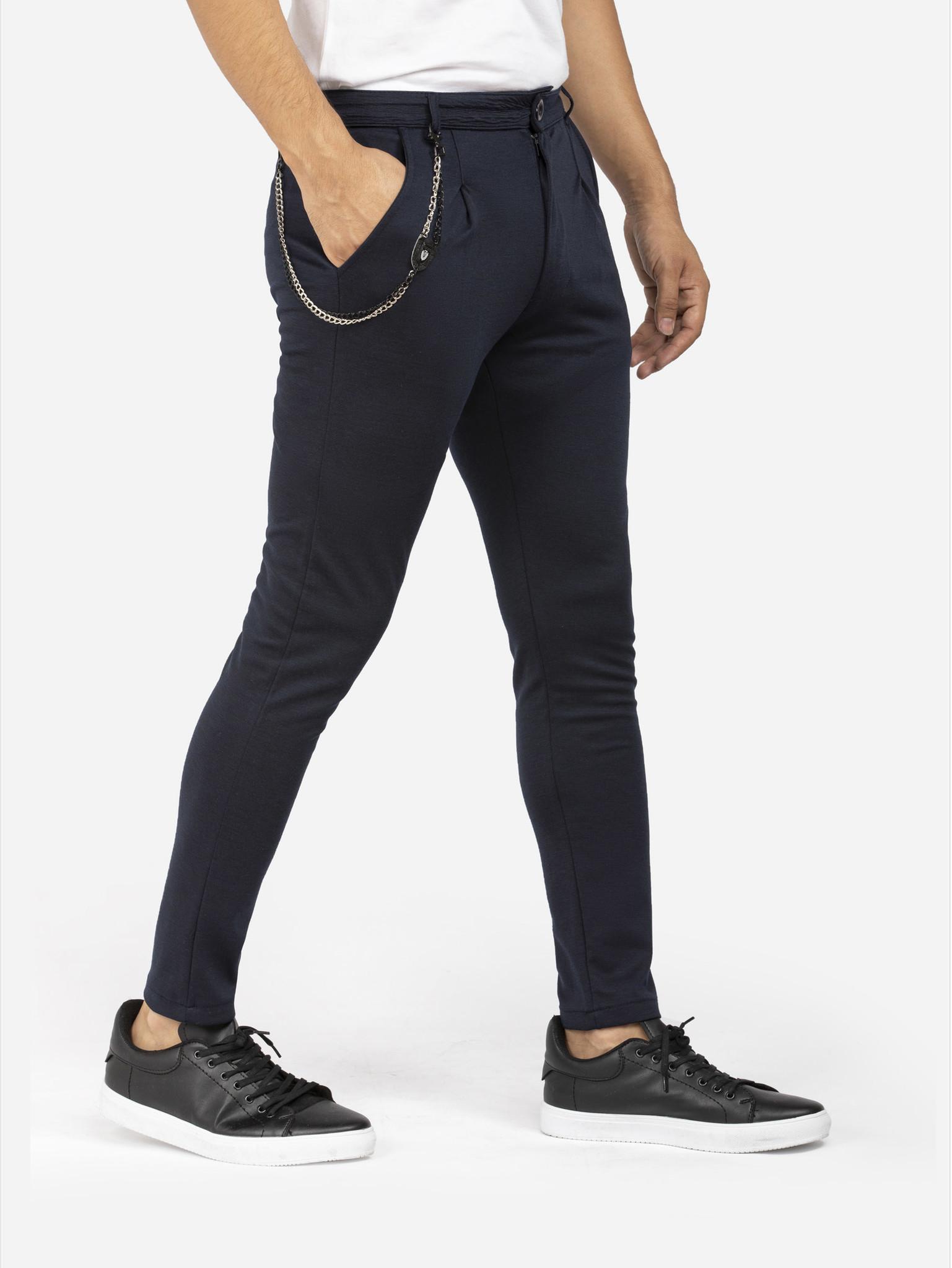 Arya Boy Pantalon 81208 Gaspare Navy