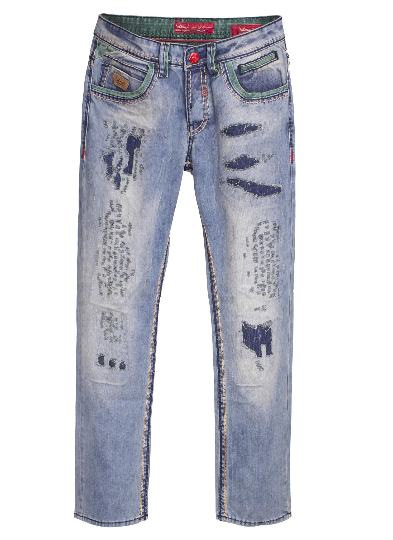 Wam Denim Jeans 92043 Blue