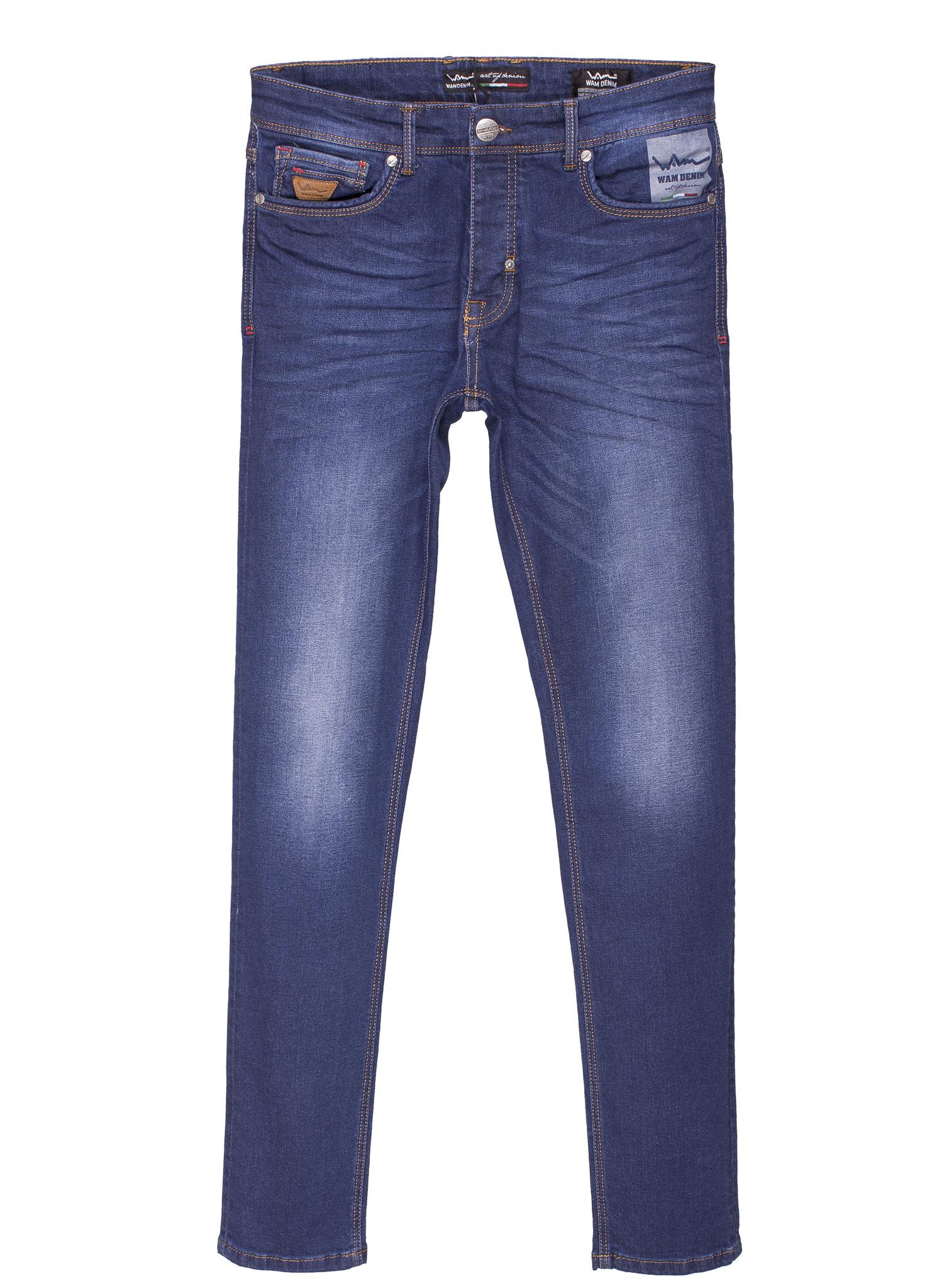 Wam Denim Jeans 72043 Dark Blue