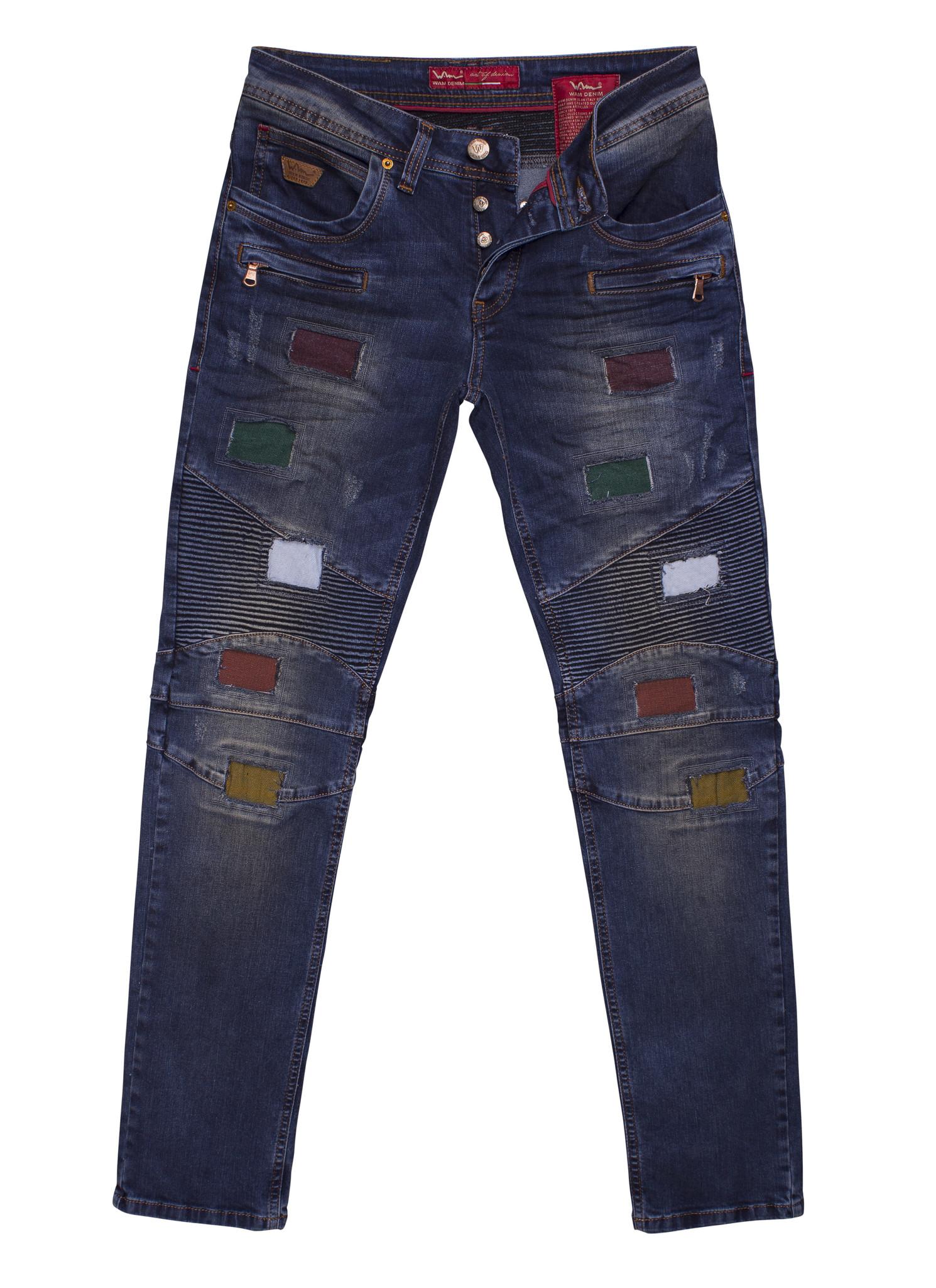 Wam Denim Jeans Tulsa Dark Blue