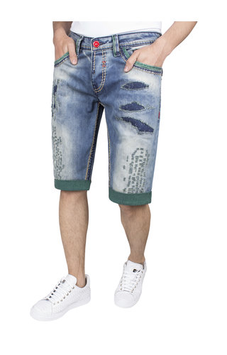 Wam Denim Korte Broek 72062 Blue