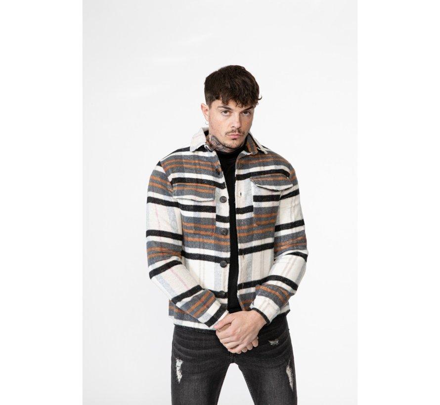 Overhemd  Lange Mouw 4131 Off White
