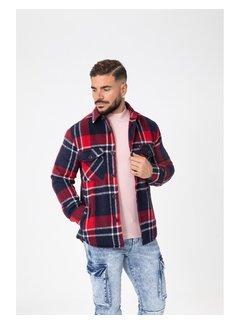 Wam Denim Shirt Long Sleeve Hp0329-3 Navy