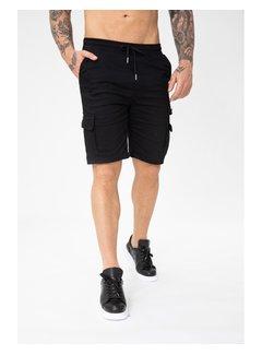 Wam Denim Short Bm1280-1 Black