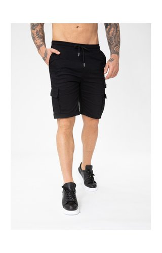 Wam Denim Korte Broek Bm1280-1 Black
