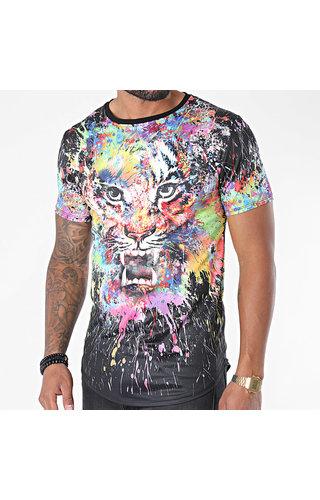 Wam Denim T-Shirt UP-T700 Black