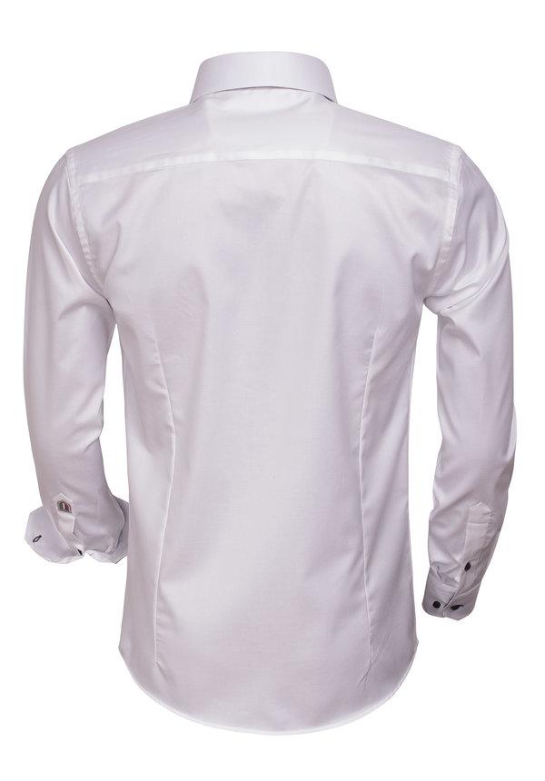 Overhemd Lange Mouw  75394 White