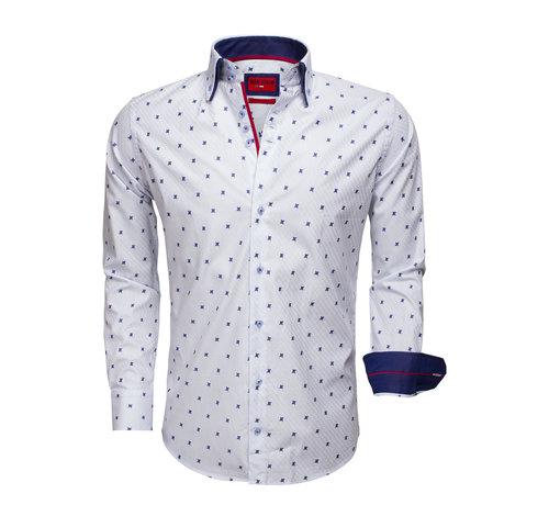 Wam Denim Overhemd Lange Mouw  75511 Light Blue