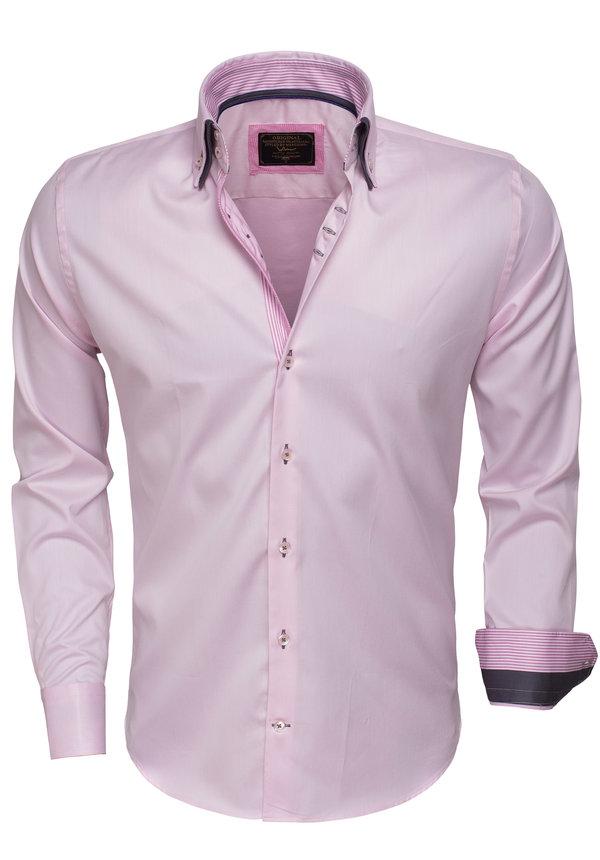 Overhemd Lange Mouw  75399 Pink