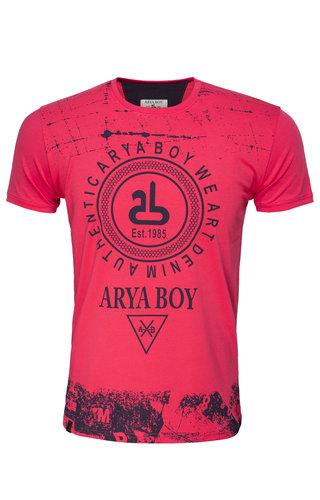 Arya Boy T-Shirt 89272 Light Red