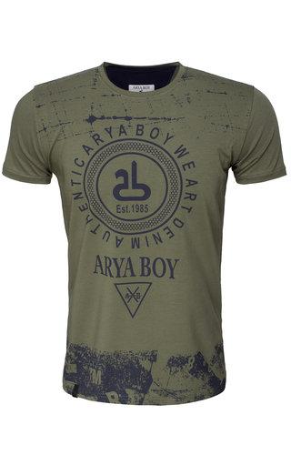 Arya Boy T-Shirt 89272 Khaki