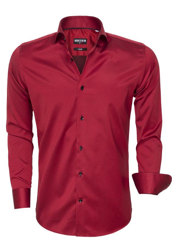 Overhemd Lange Mouw  75475 Red