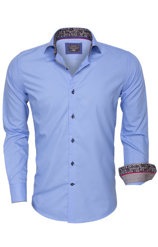 Arya Boy Overhemd Lange  Mouw 85267 Blue