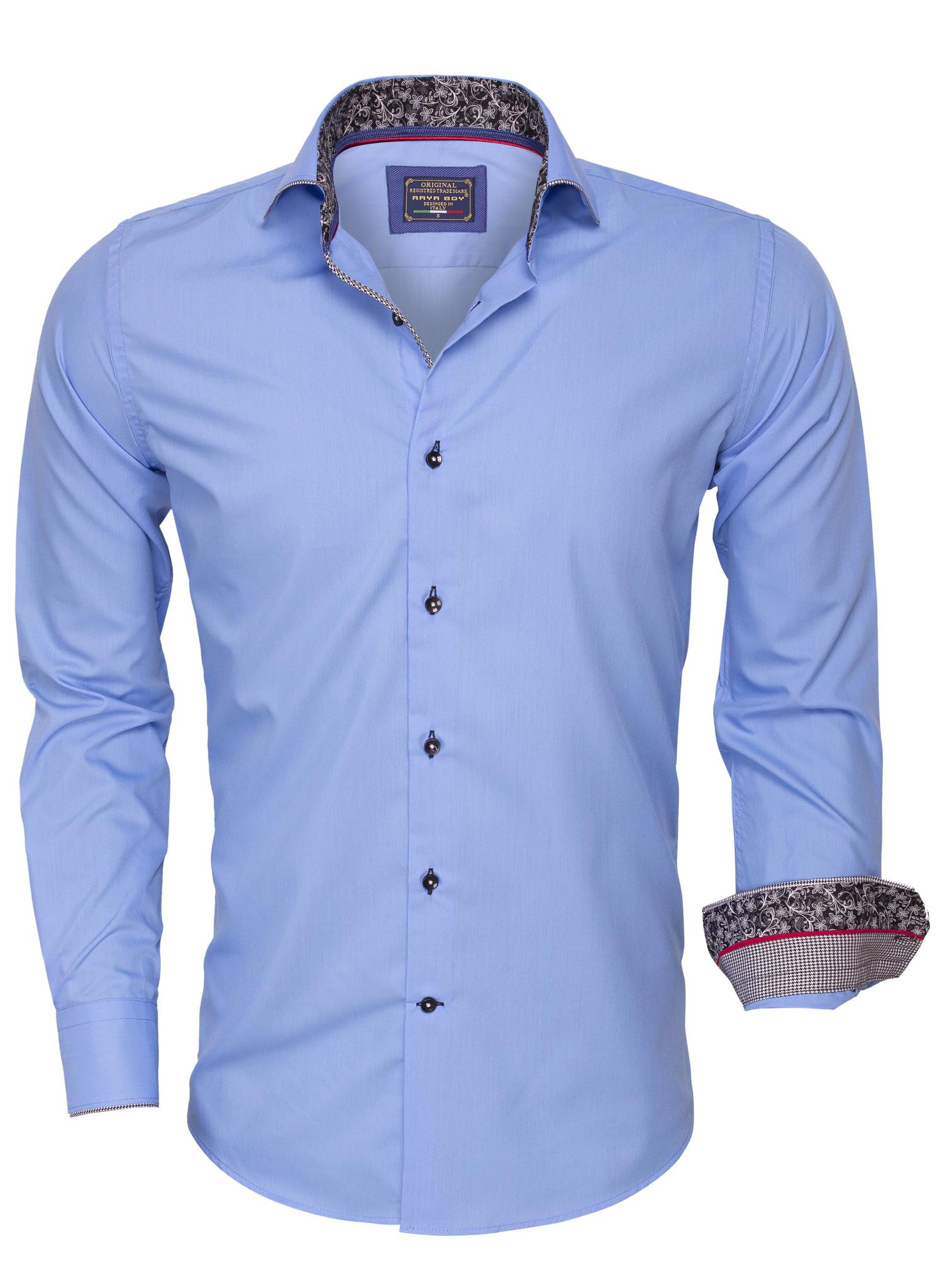 Overhemd Lange 85267 Blue