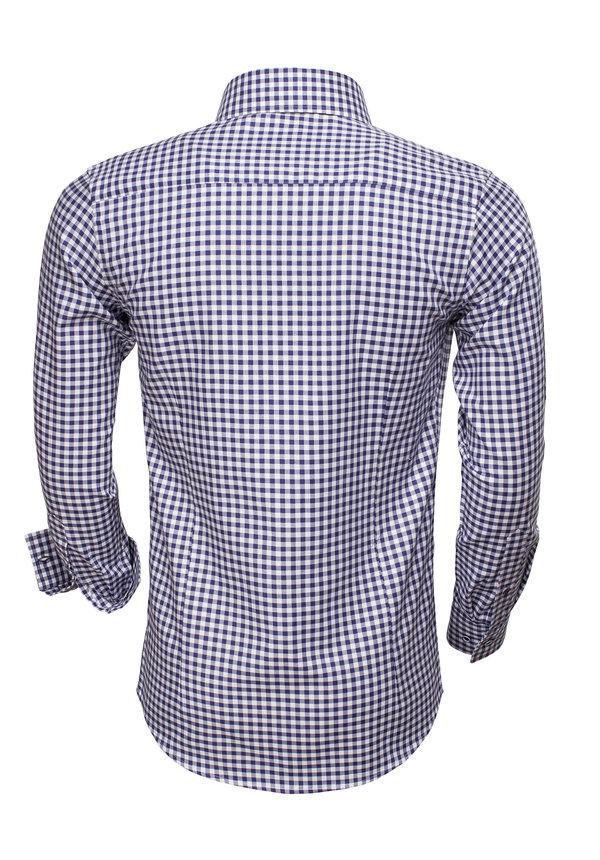 Overhemd Lange Mouw 75523 Navy
