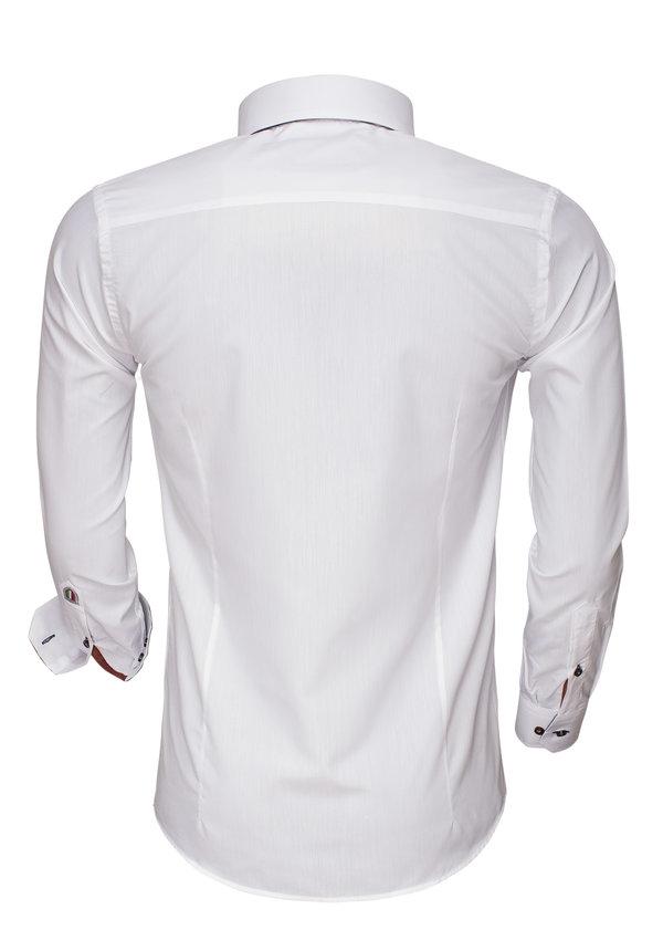 Overhemd Lange Mouw 85275 White