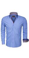 Overhemd Lange Mouw 85260 Blue