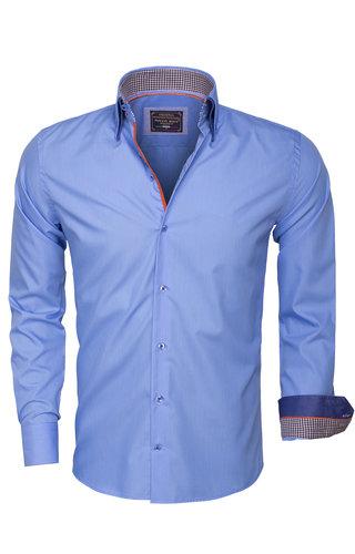 Arya Boy Overhemd Lange Mouw 85260 Blue