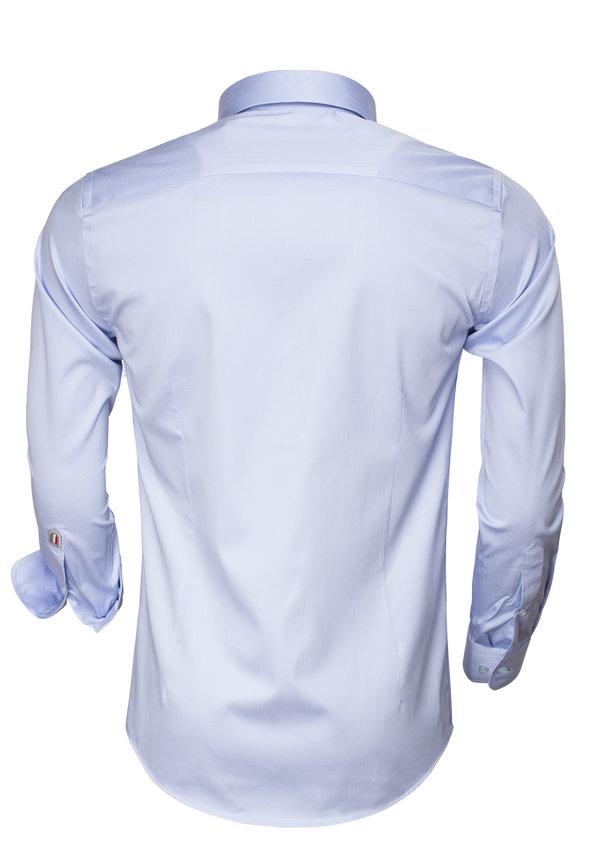 Overhemd Lange Mouw 75496 Blue