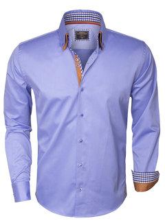 Wam Denim Overhemd Lange Mouw 75207 Dark Blue