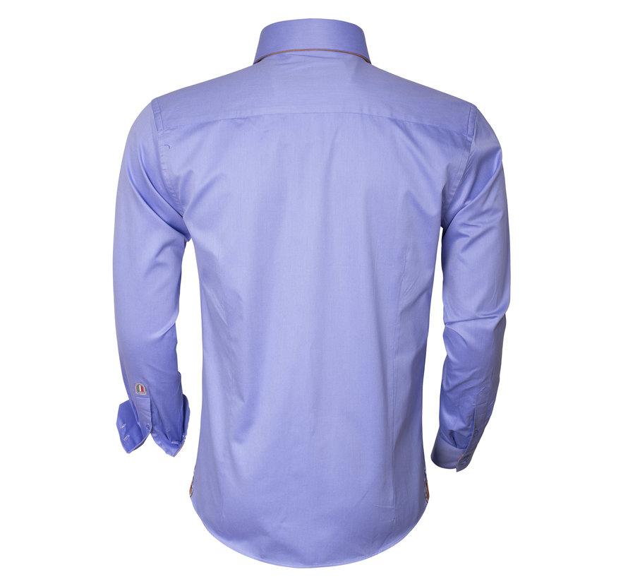 Overhemd Lange Mouw 75207 Dark Blue