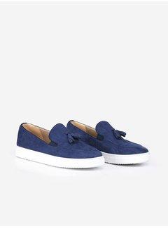 Wam Denim Suède Shoes 475 Royal Blue