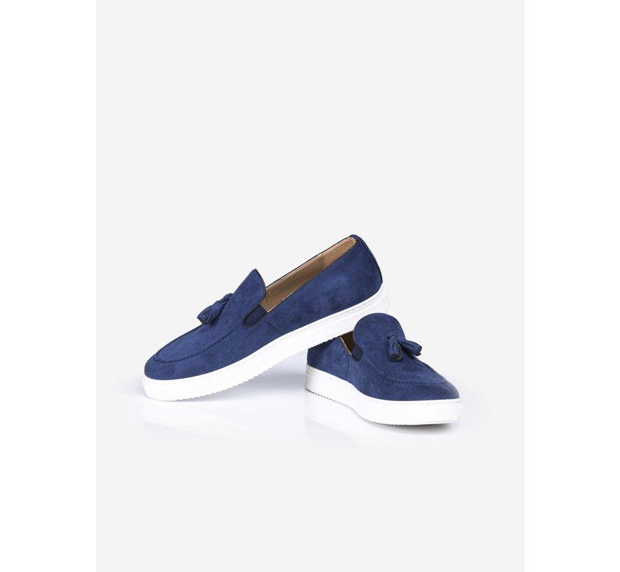Suède Schoenen 475 Royal Blue