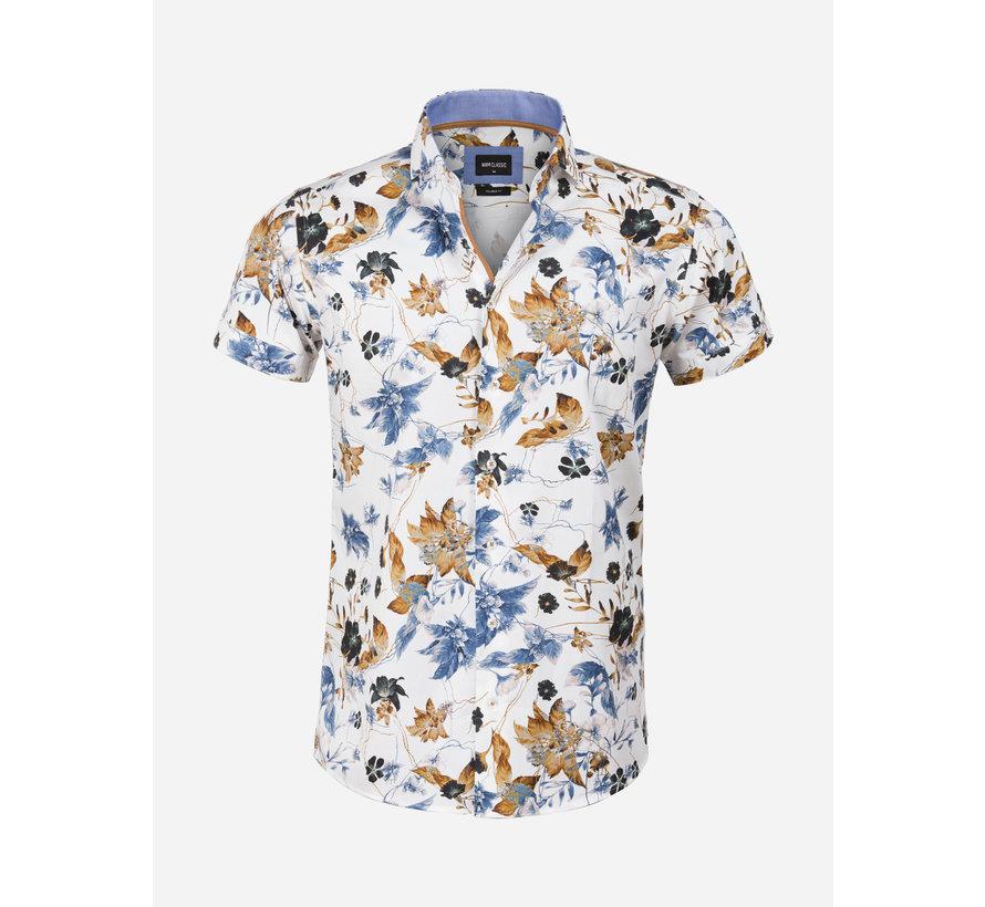 Overhemd Korte Mouw 75605 Granada White