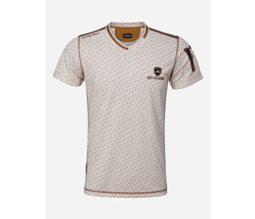 Wam Denim T-Shirt Renens Beige