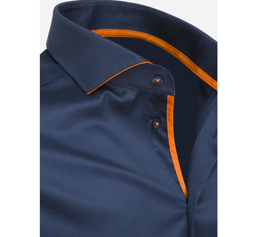 Overhemd Lange Mouw 75620 Santander Navy