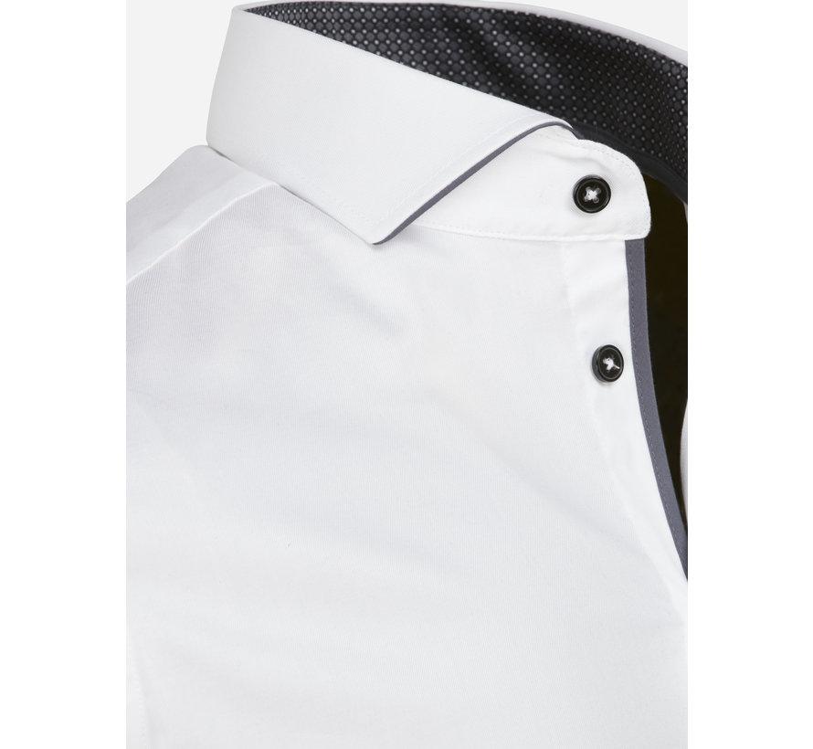 Overhemd Lange Mouw 75622 Almeria White
