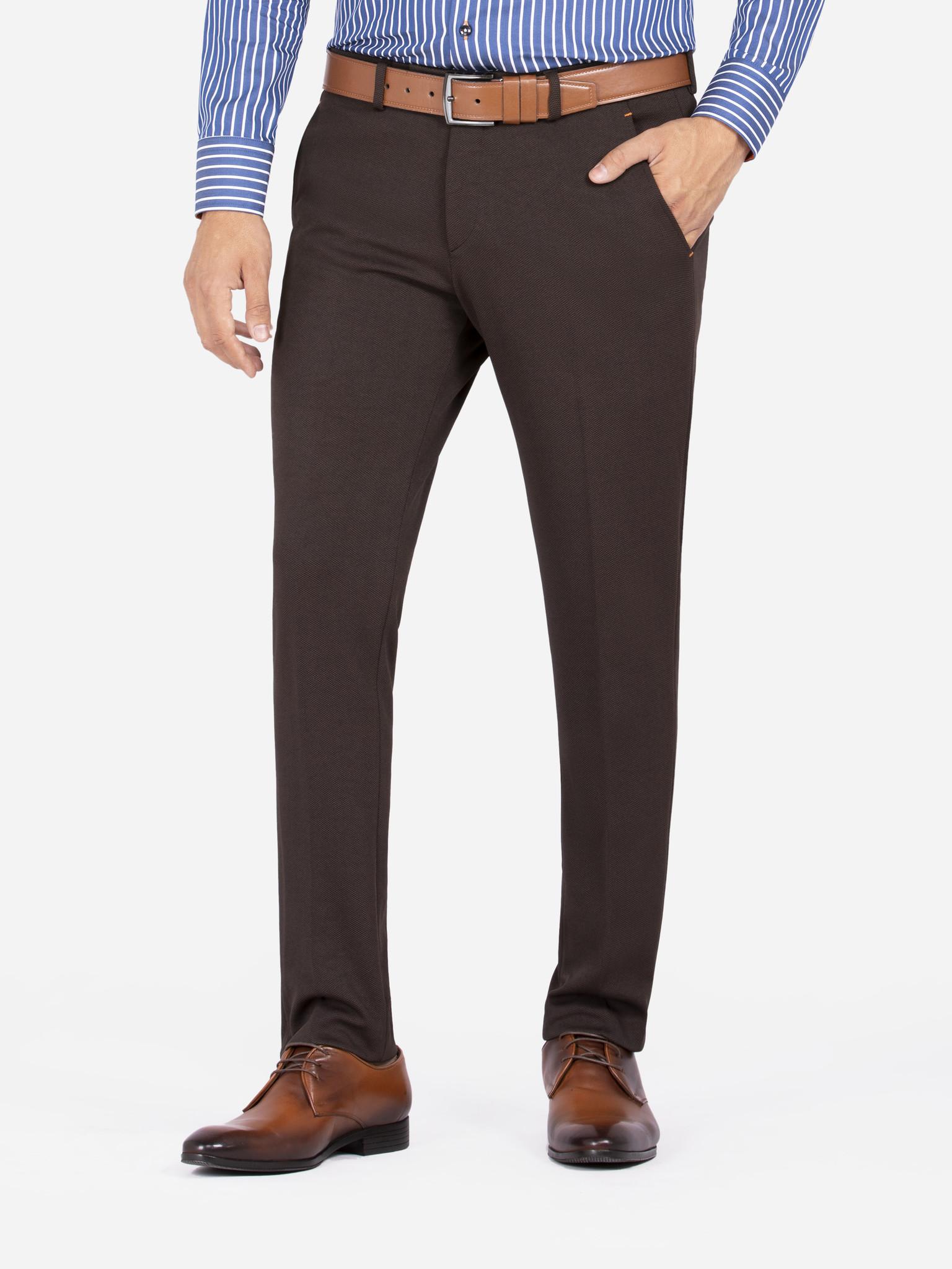 Wam Denim Pantalon 72200 Bonem Brown