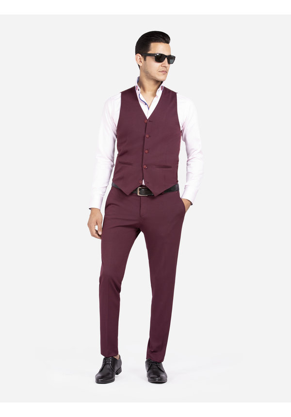 Gilet 72196 Melikh Dark Red