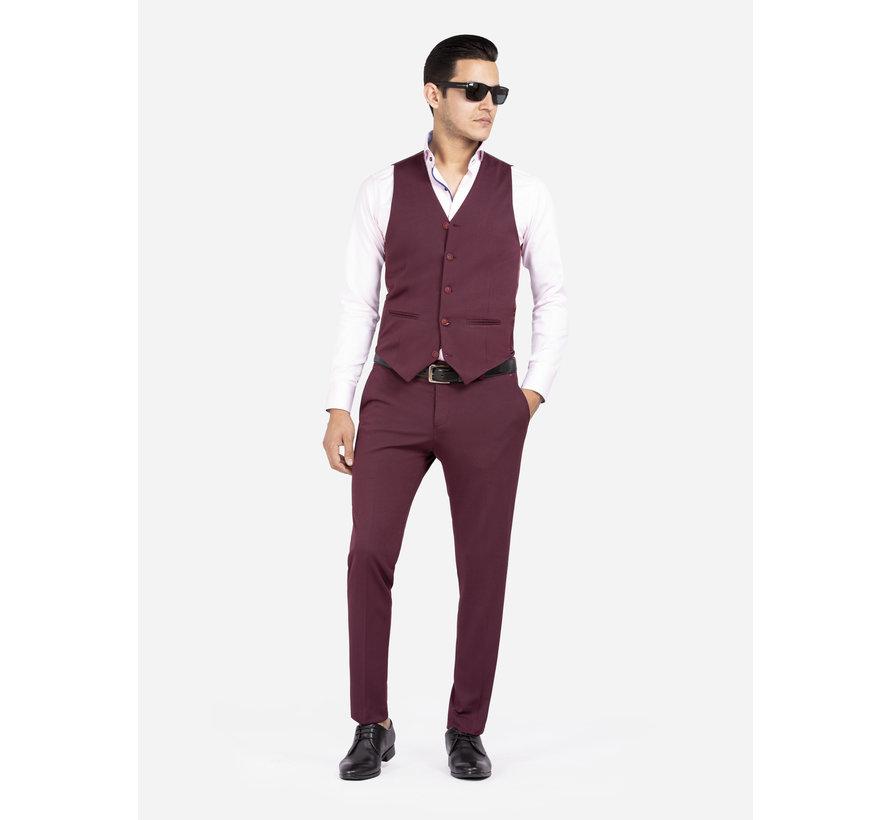 Pantalon 72196 Dark Red