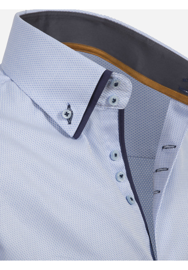 Overhemd Lange Mouw 75488 Todi Blue
