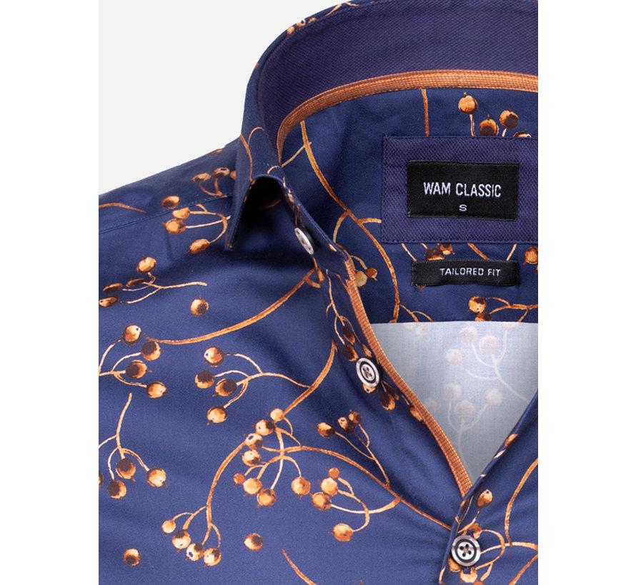 Overhemd Lange Mouw 75603 Mallorca Navy