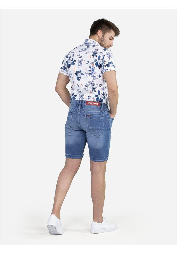 Overhemd Korte Mouw 75652 White