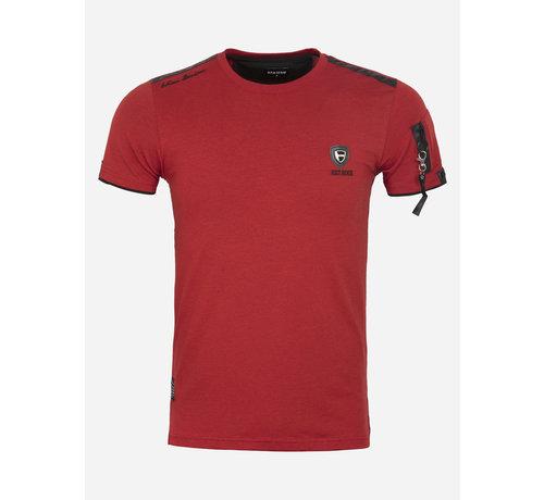 Wam Denim T-Shirt Le Locle Red
