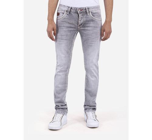 Wam Denim Jeans 72178 Dovidke Grey L34
