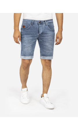 Wam Denim Korte Broek 72184 Velvel Blue