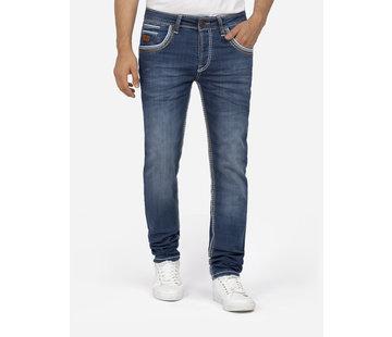 Wam Denim Jeans 72227 Boris Dark Blue L32