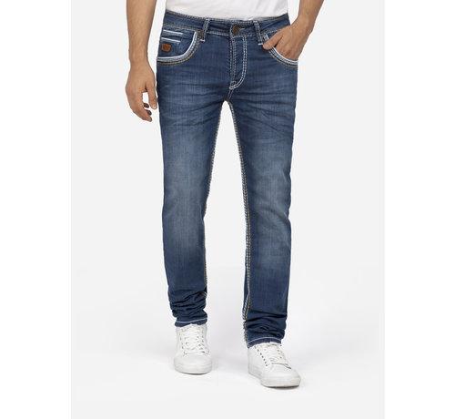 Wam Denim Jeans 72227 Boris Dark Blue L34