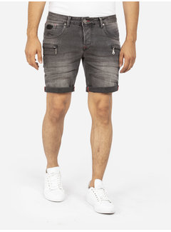 Wam Denim Shorts 72175 Bendet Grey