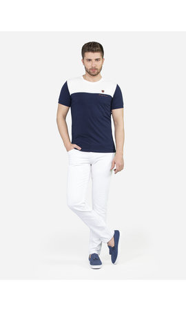 Wam Denim T-Shirt Valangin Navy