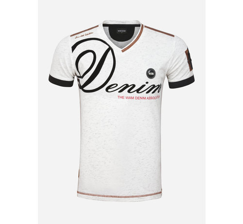 Wam Denim T-Shirt 79494 Romont Off White
