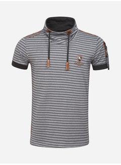Wam Denim T-Shirt 79488 Monthey Grey