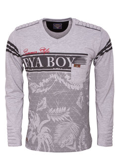 Arya Boy Sweater 89223 Grey